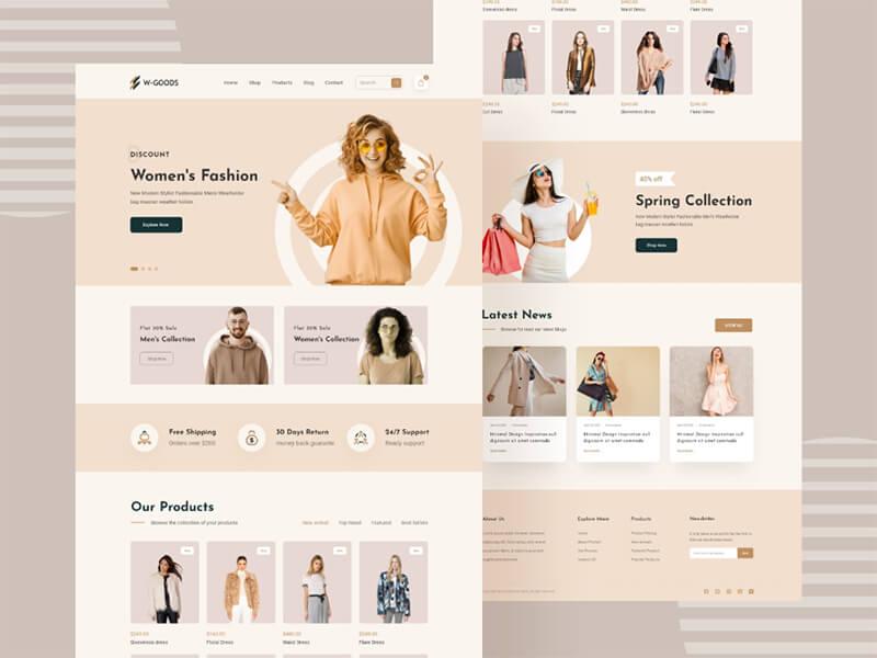 SEO cho website bán online quần áo thời trang
