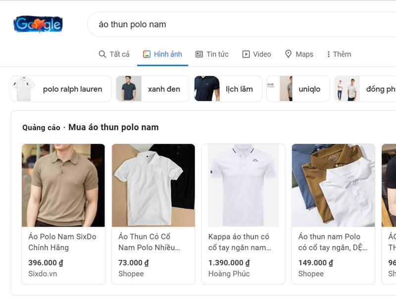 Tăng cơ hội bán hàng online mặt hàng quần áo với Google Shopping