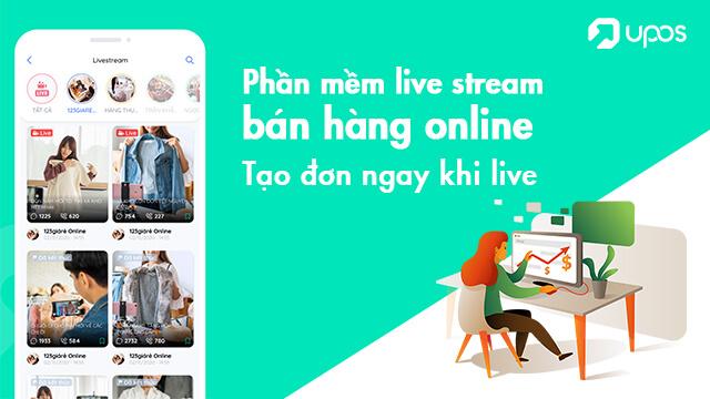 Phần mềm live stream bán hàng online - Tạo đơn ngay khi live