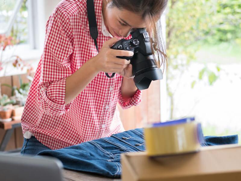 Thiết kế hình ảnh bán hàng mặt hàng quần áo thời trang