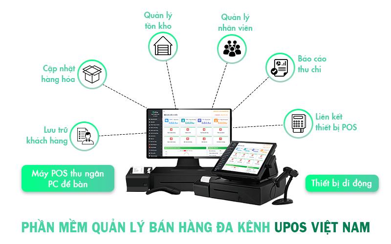 Phần mềm Quản lý Bán hàng UPOS Việt Nam